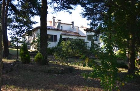Finca Santi - Casa vistas jardín